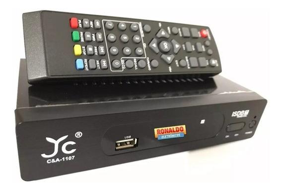 Aparelho Conversor Sinal Analógico Digital Canais Tv Tubo