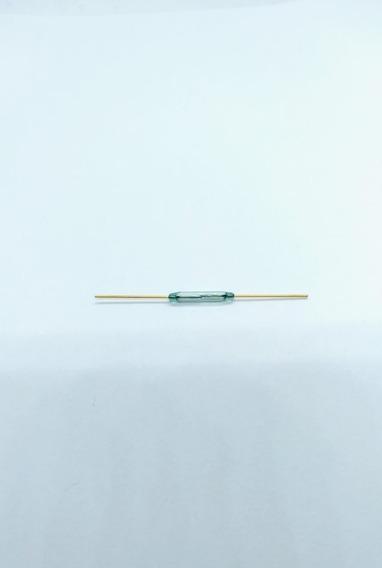 Sensor Magnético Reed Switch Ampola Dourado Kit Com 10 Peças