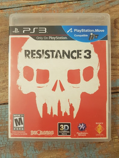 Juego Fisico Play Station Ps3 Resistance 3 Disco Impecable