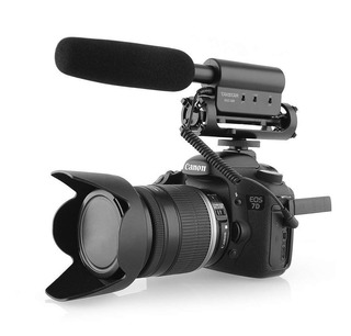 Microfono Takstar Sgc-598 Para Cámara Canon Nikon