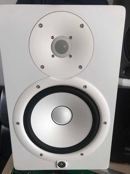 Par De Caixa Yamaha Hs8 Seminova Branca 110v Original