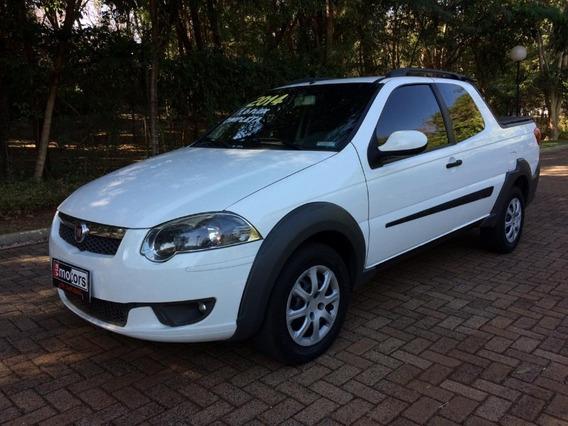 Fiat Strada Trekking 1.6 Branco 2014