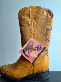 Botas Piel Genuina De Avestruz Magaña Boots