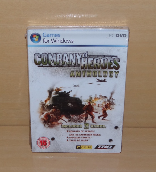 Company Of Heroes - Anthology - Lacrado - Pc
