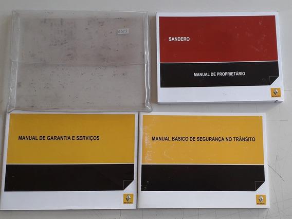 Literatura De Bordo Do Renault Sandero 2014/2015 #2303