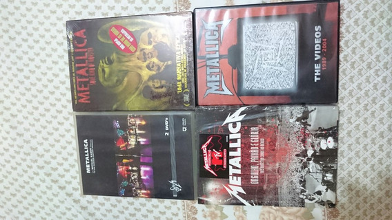 Metallica Dvds Lote