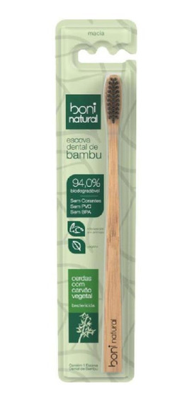 Escova Dental De Bambú Boni Natural