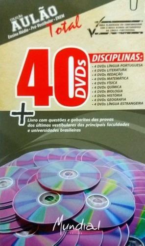 Imagem 1 de 3 de Box Com 40 Dvds Para Enem, Concursos E Vestibular - Original