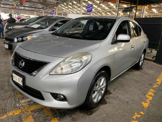 Nissan Versa Advance Std 5 Vel Ac 2012