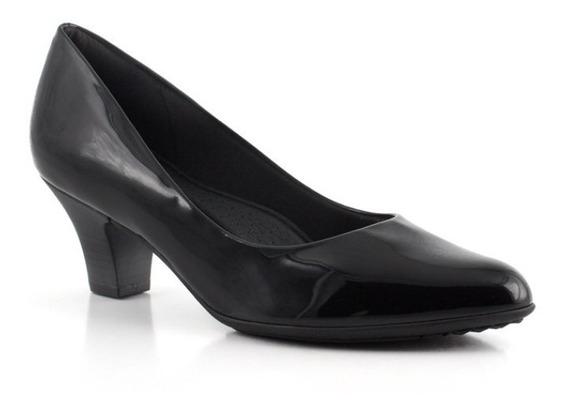 Zapato Clasico Taco Bajo Charol Super Confort Piccadilly