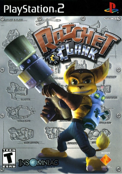 Ratchet & Clank 4 Original Ps2 - Versão Japonesa (disco)