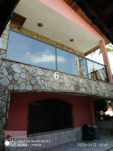 Imagem 1 de 15 de Imob03 - Sobrado 298 M² - Venda - 3 Dormitórios - 1 Suíte - Jardim Santa Luzia (santa Luzia) - Ribeirão Pires/sp - So0731