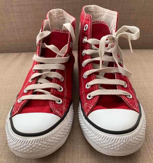 Zapatillas Botita Converse Rojas