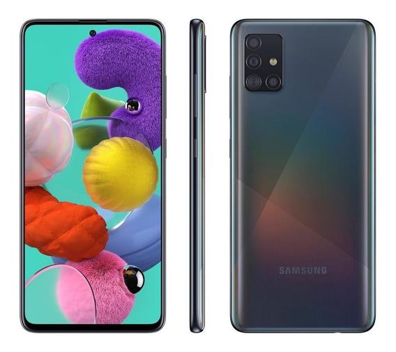 Celular Samsung Galaxy A51 A515 Dual 128gb 4gb Ram Preto
