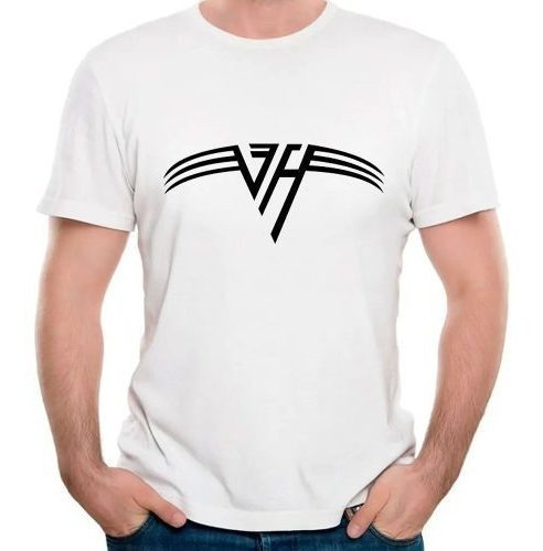 Camisetas Van Halen Logo Hard Rock Metal Metaleiro Roqueiros