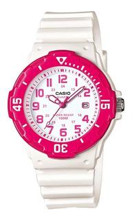 Reloj Mujer Casio Lrw-200h-4bv Análogo Retro / Lhua Store