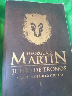 Juego De Tronos. Libro