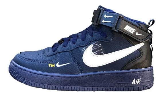 Tenis Bota Nike Air Force Grátis Um Kit Com 3 Par De Meias