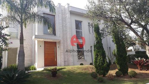 Conde Ii - Casa Com 4 Suítes À Venda, 490 M² Por R$ 5.800.000 - Alphaville - Barueri/sp - Ca5616