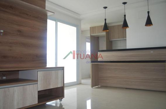 Apartamento Com 3 Dormitórios Para Alugar, 86 M² Por R$ 2.500/mês - Itu Novo Centro - Itu/sp - Ap0507
