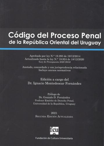 Libro: Código Del Proceso Penal De La R.o. Del Uruguay