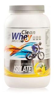 Clean Whey Isolada Sem Sabor 900g (pura 94% De Pureza)
