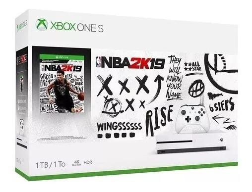 Xbox One S 1tb Novo Original + Live + Game Pass + Jogo + Nota Fiscal