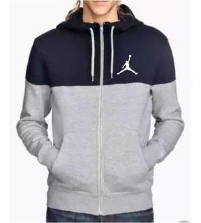 Sueteres 2 Colores Cierre Logo Air Jordan Excelente Calidad