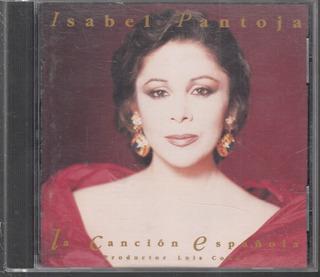 Isabel Pantoja. La Can Española. Cd Original Usado. P71. Qq7