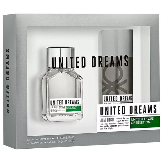Coffret Benetton Aim High Edt 100 Ml + Desodorante 150 Ml
