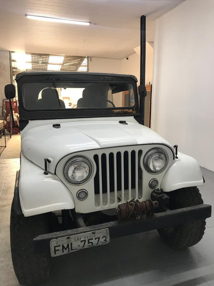 Jeep Willys Overland 1957 - Motor Opala-4x4-