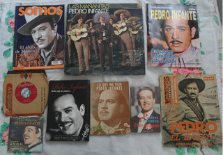 9 Cosas, Libros, Revista, Mañanitas, Discos , Pedro Infante