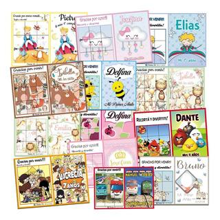 40 Libritos Libros Personalizados Colorear Pintar Souvenir