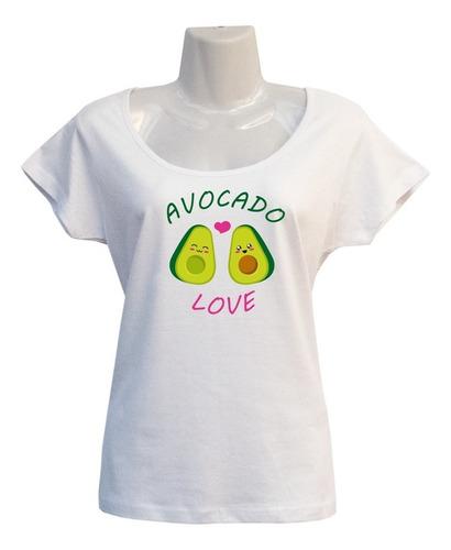 Polera Paltas Enamoradas - Escotada - Avocado - Kawaii