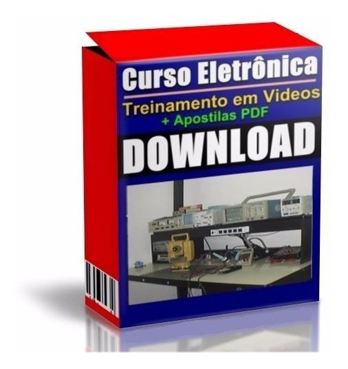 Curso 5 Dvd Eletrônica E Componentes Smd Passo A Passo A13