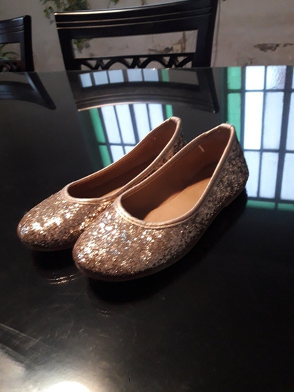 Ballerinas Chatitas Brillo Glitter Nena