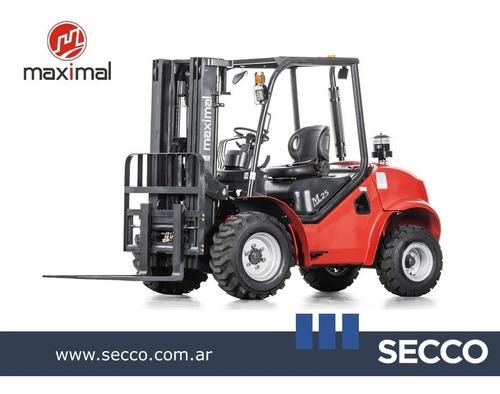 Autoelevador Maximal Todo Terreno Motor Diesel Desde