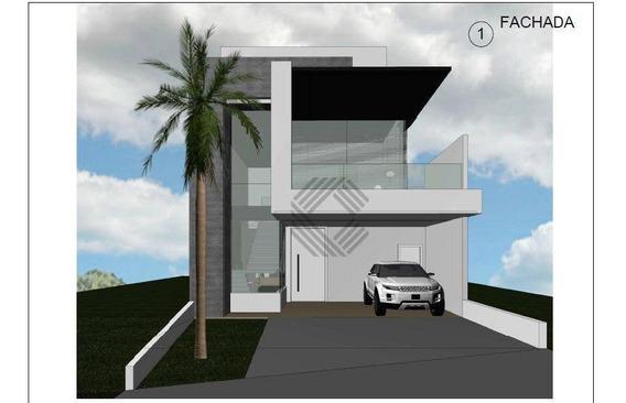 Sobrado Com 3 Dormitórios À Venda, 228 M² Por R$ 770.000,00 - Condomínio Villagio Milano - Sorocaba/sp - So4089