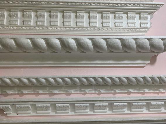 Molduras De Unicel Para Interiores 15cm X 1.22m
