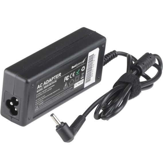 Fonte Carregador Para Notebook Lenovo 100 - 65 Watts