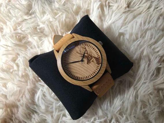 Relógio Ck / Mais Caixinha De Acrílico