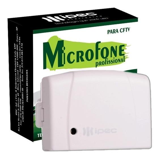 Microfone Para Câmera De Segurança Cftv Profissional Dvr