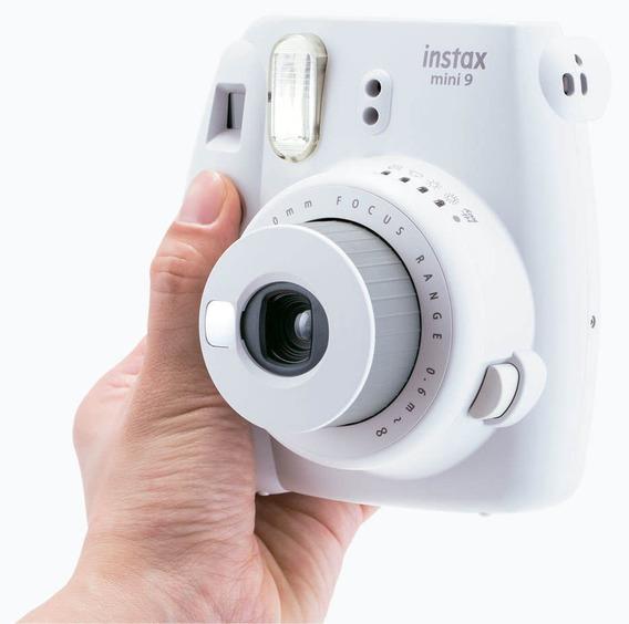 Câmera Fujifilm Instantânea Instax Mini 9 Branco Gelo