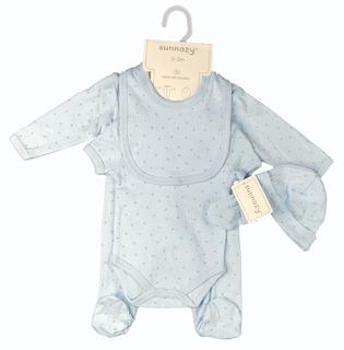 Primera Muda Para Bebé Conjunto Bebé 5 Piezas 100% Algodón