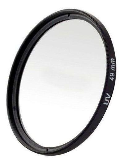Filtro Uv Ultravioleta Profissional Para Lente Câmera Fotográfica 49mm