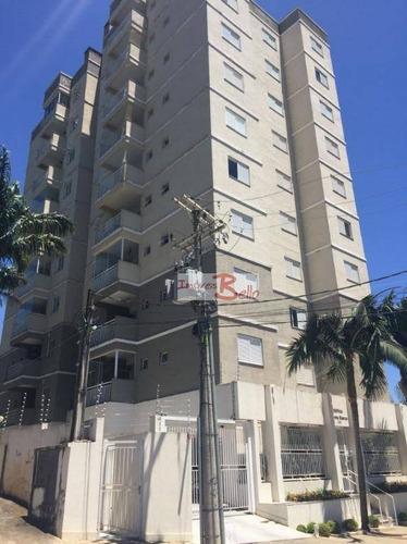 Apartamento Com 2 Dormitórios À Venda, 65 M² Por R$ 370.000,00 - Loteamento Santo Antônio - Itatiba/sp - Ap0500