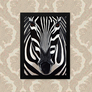 Quadro Zebra Foco 23x33cm