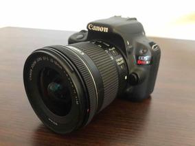 Camera Canon Sl1 + Lente Canon 10-18mm 4.5-5.6