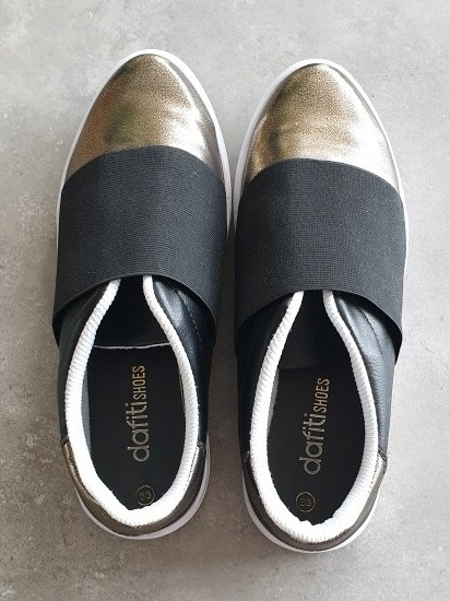 Tênis De Elástico Dafiti Shoes Número 36