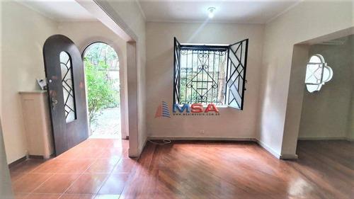 Imagem 1 de 18 de Casa De Vila Para Locação Em Higienópolis, Disponibilidade Para Comercial Ou Residencial. - Ca1116